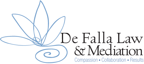 De Falla Law Mediation and Collaborative Divorce Attorney Logo